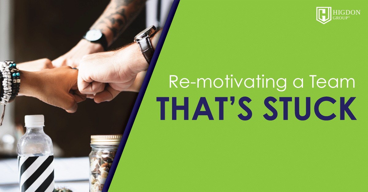 Re-Motivating A Network Marketing Team