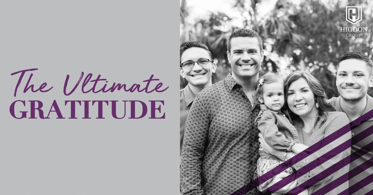Ultimate Gratitude