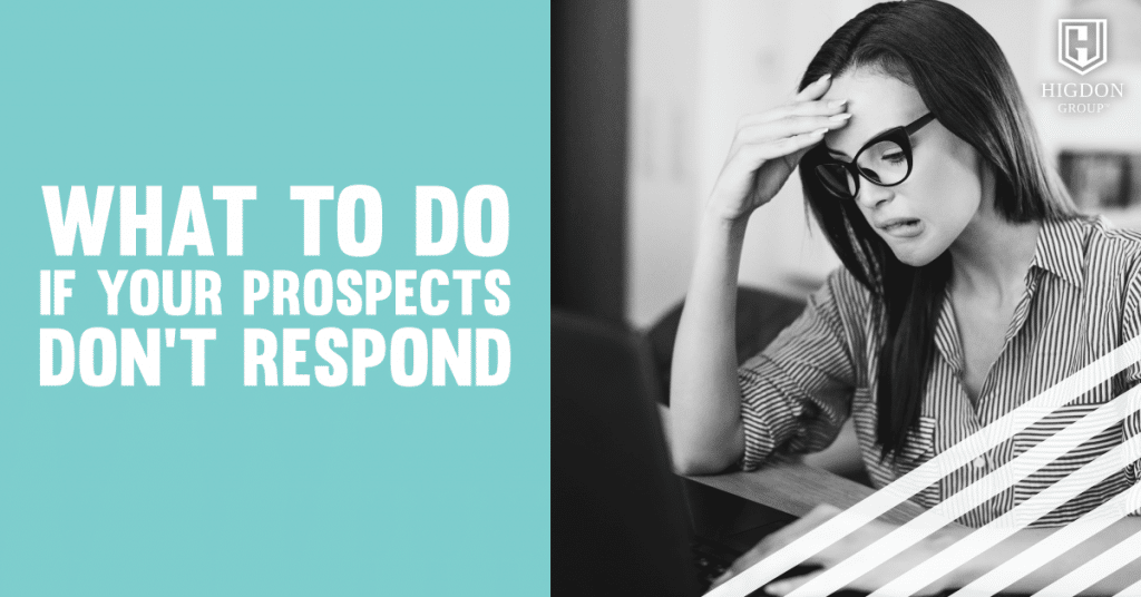 prospects don't respond