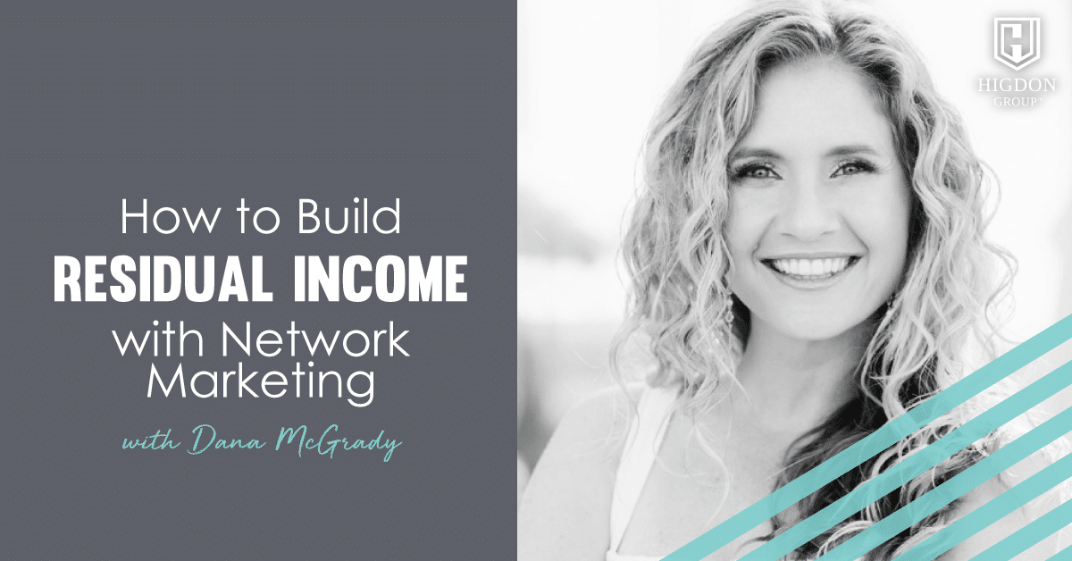residual income network marketing