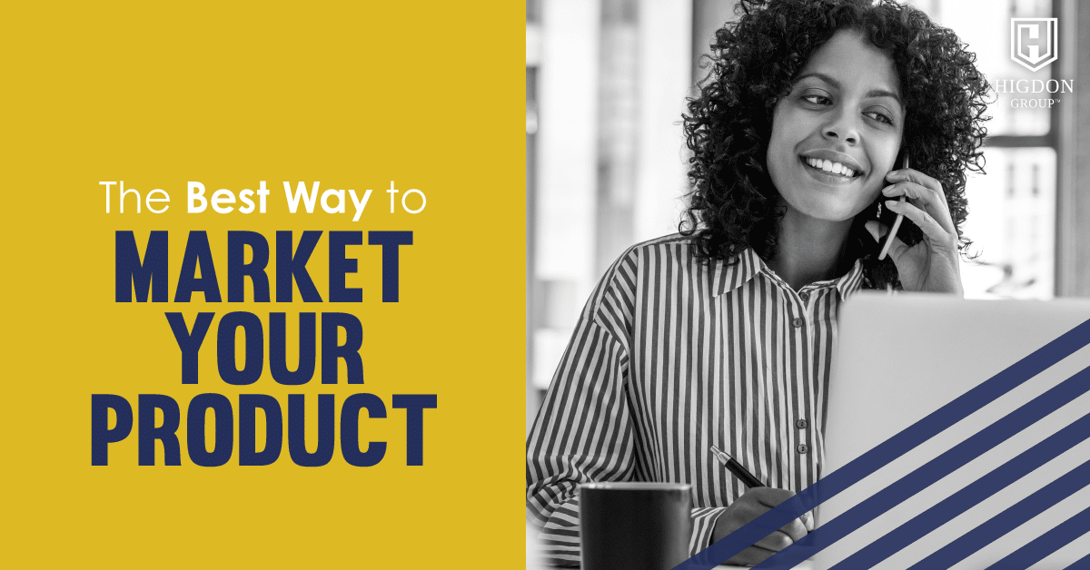 market your product