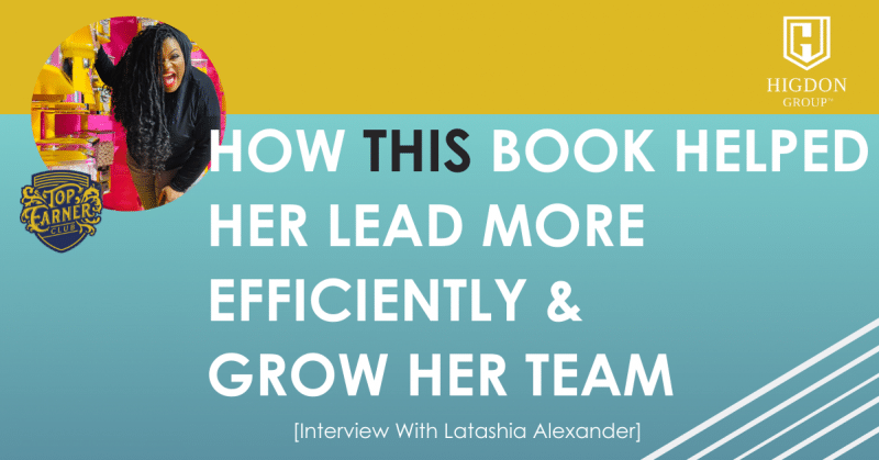 how this book helped her lead more efficiently