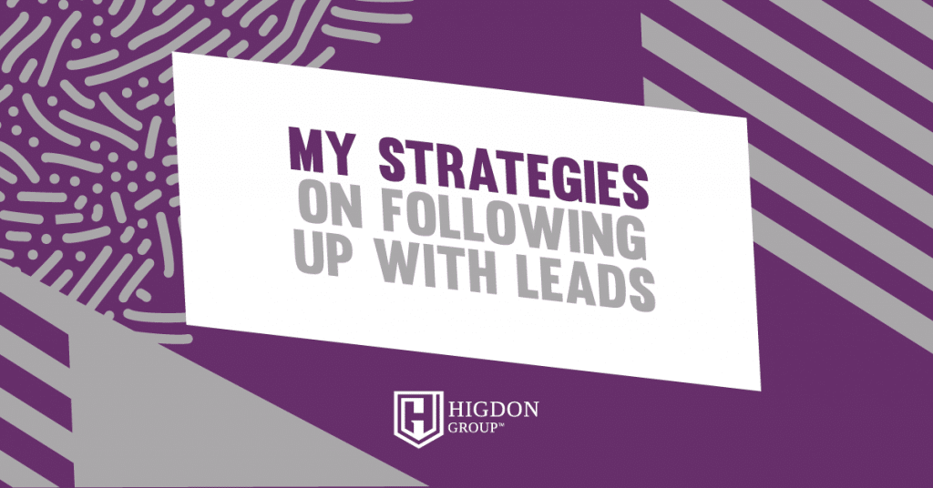 follow up with leads