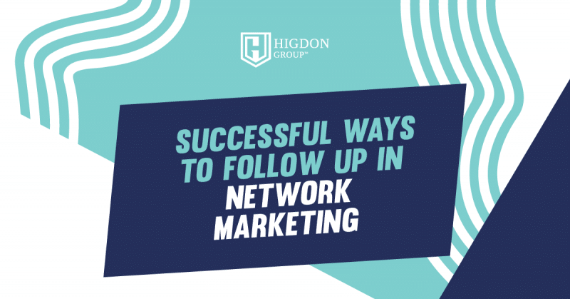 follow up in network marketing