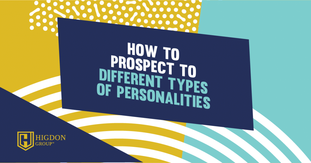 how to sell to different personality types