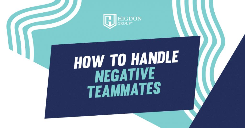 negative people in network marketing