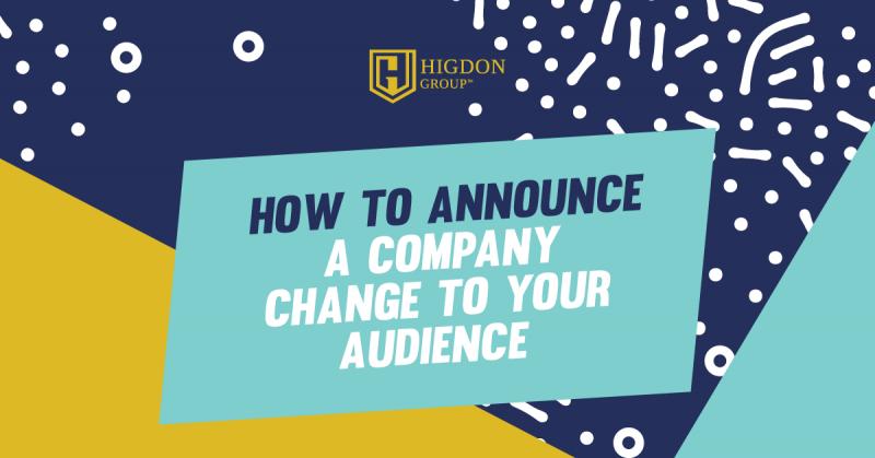 how to announce rebranding on social media