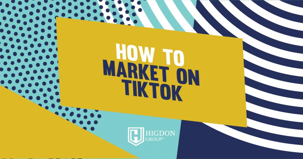 how to market on tiktok