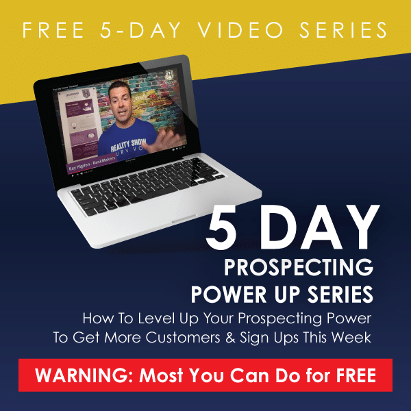 Free 5 Day Series - Prospecting Power Up