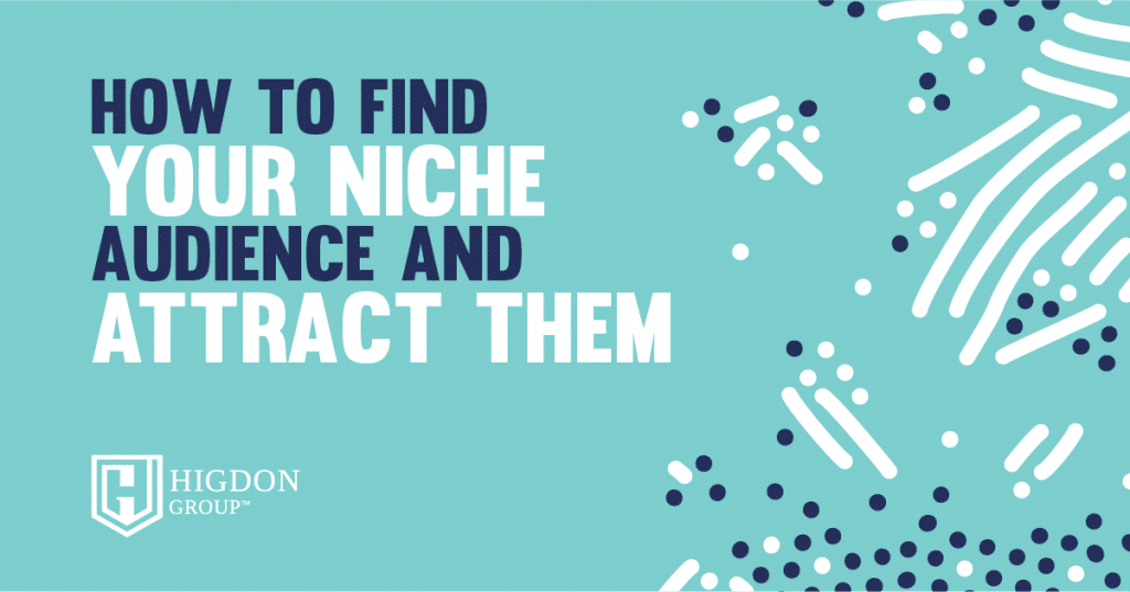 find your niche audience