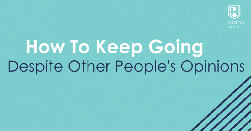 stop giving people power over you
